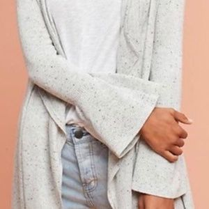 Long Waterfall Cardigan - Moth by Anthropologie
